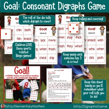 Word Work Games   7  BINGO  Games Bundle with Sports Themes