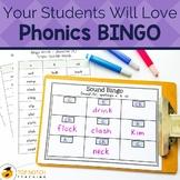 Phonics BINGO | Spelling Games for Fun Spelling Practice