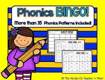 Phonics BINGO for the Year!