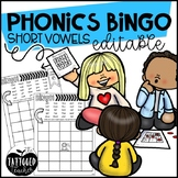 Phonics BINGO short vowels