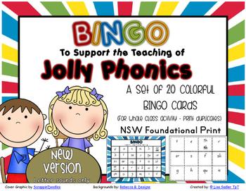 Phonics BINGO - NSW Foundation Print