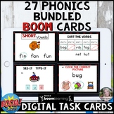 Phonics BOOM Card Bundle Distance Learning