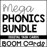 Phonics BOOM Cards MEGA BUNDLE Digital Task Cards