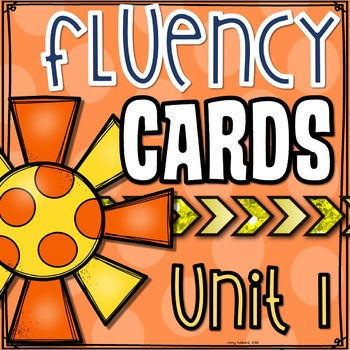 Phonics Based Fluency Cards- Unit 1
