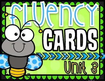 Phonics Based Fluency Cards- Unit 3