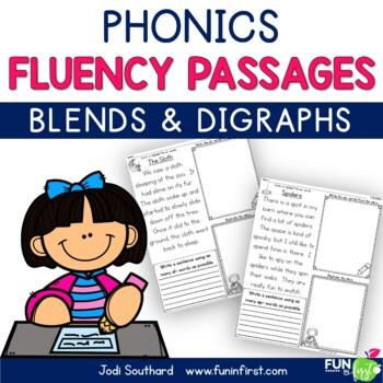 Phonics Based Fluency Passages {Blends & Digraphs}