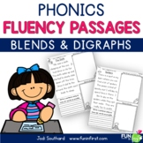Phonics Based Fluency Passages {Blends & Digraphs}