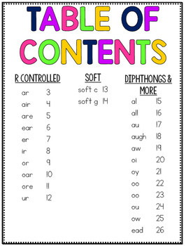Phonics Based Fluency Passages {Diphthongs, Modified Vowels, & More}