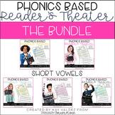 Reader's Theater-Phonics Centers-Short Vowels-CVCs-Word Families Bundle