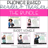 Reader's Theater-Phonics Centers-Short Vowels-CVCs-Word Fa