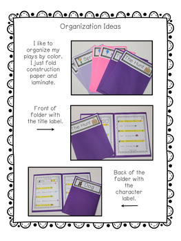 Phonics Based Reader's Theater {Short a Word Families}