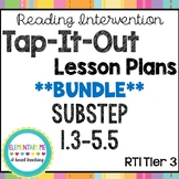 Phonics Based Reading Intervention Lesson Plans Substeps (