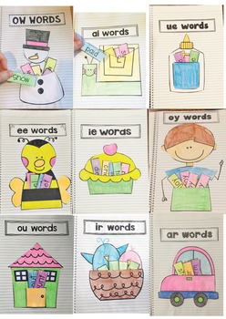 Phonics Based Spelling Interactive Notebook Lessons