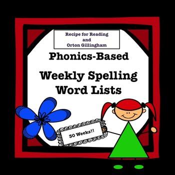 Phonics-Based Spelling Lists