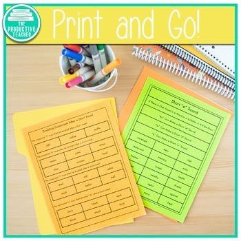 Phonics Based Spelling Program for Upper Elementary Students - Freebie Sample