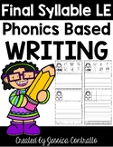 Phonics Based Writing Final Syllable LE