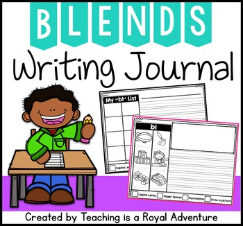 Phonics-Based Writing Journal Prompts: Blends