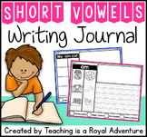 Phonics-Based Writing Journal Prompts: Short Vowel Word Families