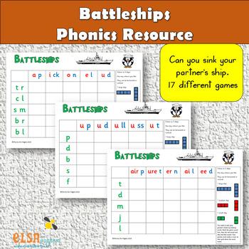 Phonics - Battleships