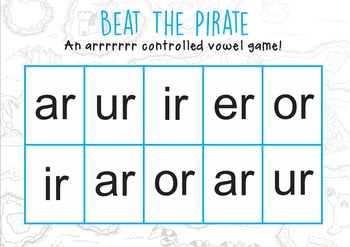 R Controlled Vowels Beat The Pirate