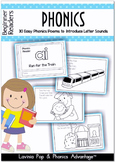 Phonics Beginner Readers 30 Easy Phonics Poems to Introduce Letter Sounds