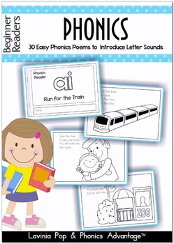 Phonics Beginner Readers 30 Easy Phonics Poems to Introduc