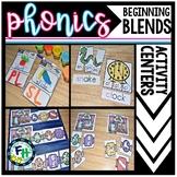 Phonics Beginning Blends Activity Centers {3 Centers}