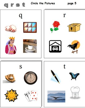 Phonics Beginning Letters A - Z