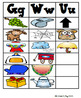 Word Study Picture Sorts for an Interactive Spelling Notebook 1st grade