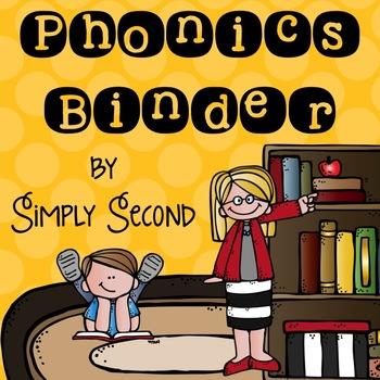 Phonics Binder