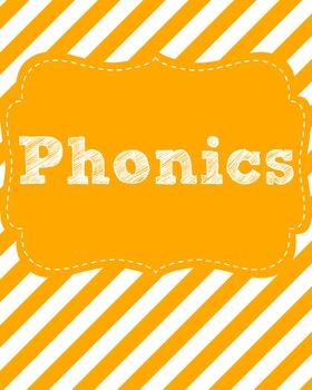 Phonics Binder Cover