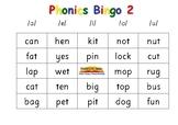 Phonics Bingo 2