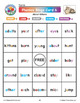 Phonics Bingo About Kittens: Print & Digital Vowel Activities for Five Days