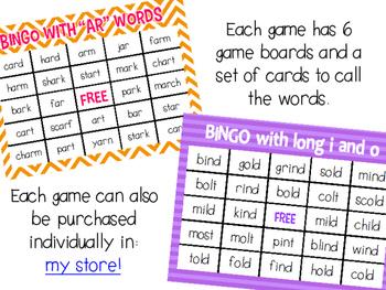 Phonics Bingo BUNDLE