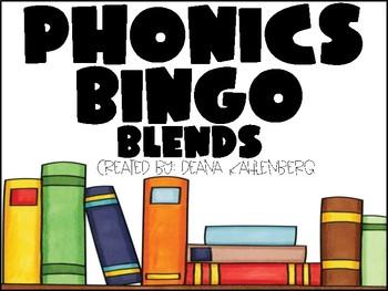 Phonics Bingo {Blends}