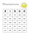 Phonics Bingo (Blends/Digraphs/Diphthongs/Long Vowels/R-Controlled)