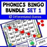 Phonics Bingo Bundle Set 1- Distance Learning