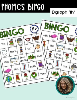 Phonics Bingo (Digraph th)