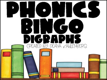 Phonics Bingo {Digraphs}