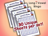 Phonics Bingo - Long I