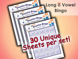 Phonics Bingo - Long O