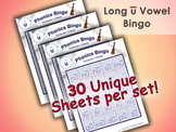 Phonics Bingo - Long U