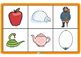 Phonics Bingo Picture Matching Game Set 1