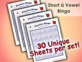 Phonics Bingo - Short A