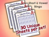 Phonics Bingo - Short O