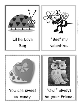 Phonics Bingo With Valentine Mini Book: Class Set of 32 Unique Cards