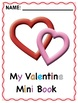 FREE Phonics Bingo With Valentine Mini Book: Small Group Version
