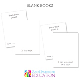 Level 1 Phonics Blank Book- S A T I P N