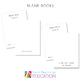 Level 5 Phonics Blank books