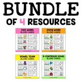 Phonics Blend Cards Bundle